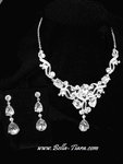 Melita - Royal Collection - Stunning Swarovski crystal necklace set - SALE!!