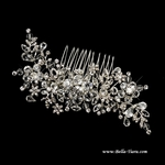 Merope - NEW Gorgeous swarovski crystal wedding comb - SALE - out of stock