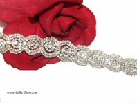Mina - Dazzling couture design wedding bracelet - SPECIAL