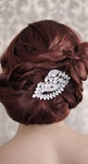 Mina - Royal Collection Elegant bold Swarovski headpiece - SALE