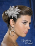 Minerva - NEW!! GORGEOUS crystal and rhinestone bridal comb - SALE!!