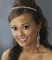 Molly - SPARKLING Elegance Swarovski and rhinestone headband-SALE!