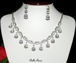 Morgan - Dramatic Cubic Zirconia necklace set - AMAZINGLY PRICED!!!