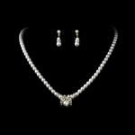 Myrtle - Simple elegance pearl necklace set