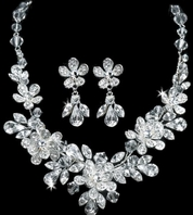 Naima -- Stunning Swarovski Crystals Bridal Jewelry Set - SALE