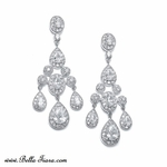 Nella - Royal Collection - Miss Universe CZ chandelier earrings - SPECIAL