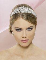 NEW!! BREATHTAKING PRINCESS crystal bridal tiara - SALE!!