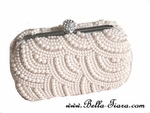 NEW Couture crystal and pearl wedding purse -  SPECIAL TWO LEFT