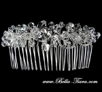 NEW!! Elegant dazzling swarovski crystal wedding hair comb - SALE