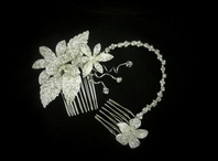 NEW!!!  Grecian brow band crystal bridal headband - SALE!!