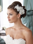 NEW!! David Tutera for Mon Cheri couture collection wedding hair flower - SALE