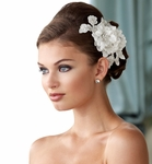 NEW!! Mon Cheri couture collection wedding hairflower - SALE
