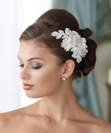 NEW!! Mon Cheri couture collection floral Headpiece