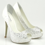 New  Perry Benjamin Adams Crystal Wedding shoes - FREE SHIPPING