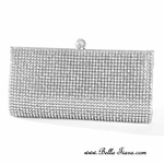 Rhinestone crystal evening clutch purse - Sale!! BACK IN STOCK a few left