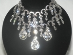 NEW!! STRIKING Swarovski crystal statement choker Necklace Set - SPECIAL- sold out