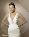 NEW!! STUNNING Couture Crystal Bridal Veil - 5540 - SALE!!!