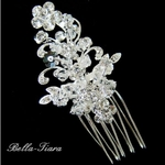 Oriana-Victorian Scolls Bridal Hair Pins (set of 2)