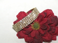 Oro - Stunning Elegant gold five-row stretch bracelet  -- SPECIAL!!