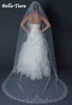 PRE-ORDER - Royal Collection - Jaylena - Cathedral Veil with Crytals