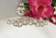 Pretty Pearl and Rhinestone Wedding Hair Pins<br><i>Set of 12</i>SPECIAL!! SOLD