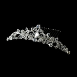 Primavera - Charming royal tiara wedding comb - SPECIAL!!