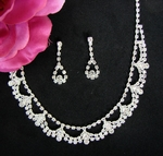 Princess Austrian Crystal Sparkling Necklace Set - SALE!!