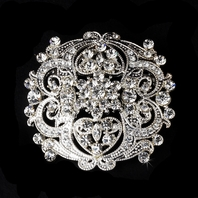 Princess - Beautiful vintage bridal brooch - SALE!!
