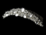 Princess - Vintage-Inspired Swarovski Crystal Wedding Comb - SALE!!