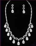 PRINCIPESSA - ROYAL CZ BRIDAL NECKLACE SET - SALE!!