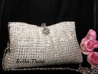 Rachel -  Wholesale Swarovski Crystal Evening  Purse --  SPECIAL