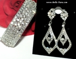 Ragini - Beautiful Swarovski crystal wedding set - Amazing price!!