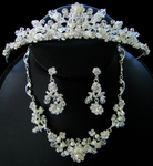 Rennaissance  Crystal Tiara and Jewelry Set
