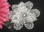Roma - Gorgeous Swarovski crystal off white bridal comb - SPECIAL!!