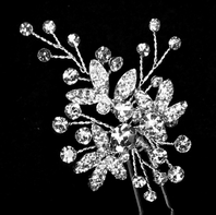 Romantic vine spray bridal  hair pins - sold individually - Sale