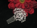 Romantica - CZ vintage inspired bridal hair accessory