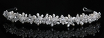 Rosetta - Elegant Swarovski crystal wedding Tiara headband - SALE