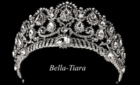 Royal collection - Austrian rhinestone wedding tiara - SALE