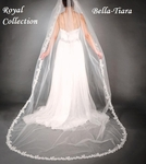Royal Collection - Beautiful Cathedral Wedding Veil