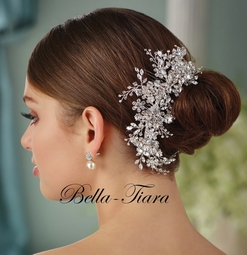 Royal Collection exquisite Swarovski crystal hair comb