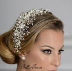 Royal collection - Gorgeous exquisite romantic wedding hair comb - SALE