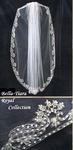 Royal Collection - High end beaded couture bridal veil