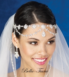 Royal Collection - New Breathtaking crystal wedding brow band hair wrap