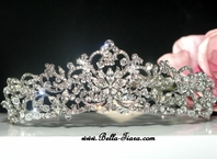 Royal Collection - PrincessLaura - Vintage crystal tiara - SPECIAL