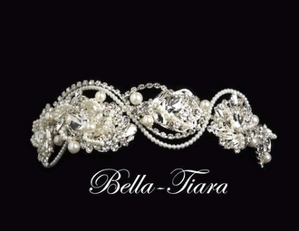 Royal Collection - Stunning pearl and crystal headband