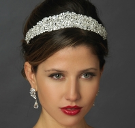 Royal Collection - STUNNING Swarovski crystal wedding tiara -