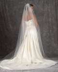 Royal Collection -  Swarovski crystal scattered cathedral veil - Amazingly priced!!