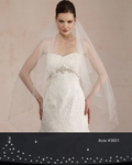 Royal Collection - Tara - STUNNING Elegance Swarovski crystal veil - SPECIAL