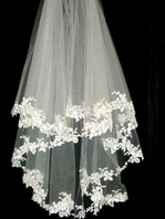 Royal Collection Valentina -  GORGEOUS high end wedding veil - SPECIAL