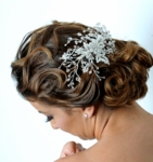 Royal Collection - vine and swarovski crystal bridal hair comb - SPECIAL